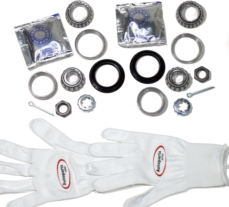Autoparts-Online Set 60001910 2 x Radlager Radlagersatz f/ür hinten//die Hinterachse
