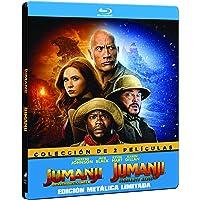 Pack Jumanji: Bienvenidos a la jungla + Jumanji: El siguiente nivel - Edición Metálica (BD) [Blu-ray]