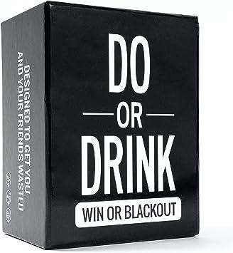 Do or Drink - Juego de Cartas para Beber. Juego divertido y sucio para adultos. Reto o