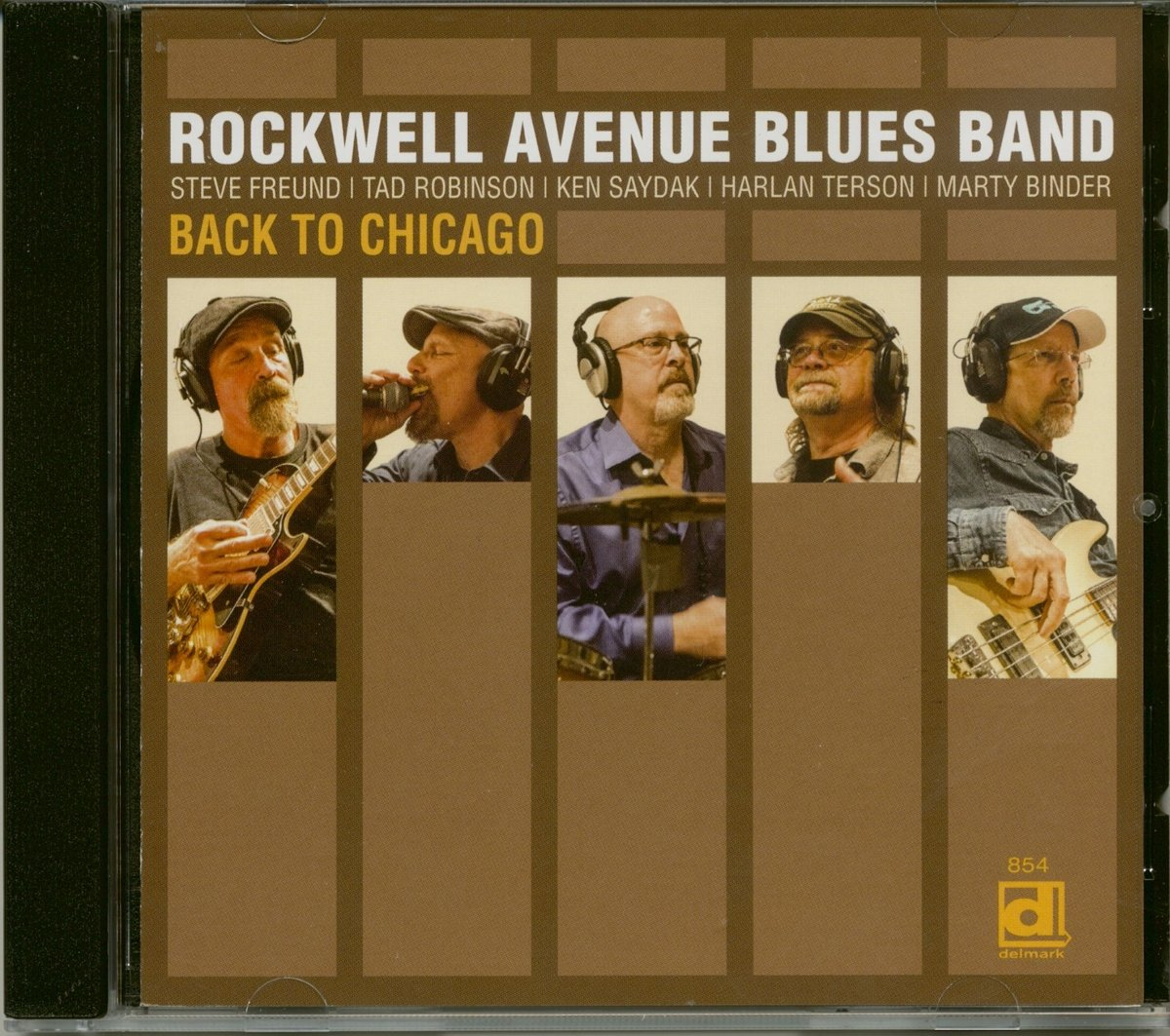 CD : Rockwell Avenue Blues Band - Back To Chicago (CD)