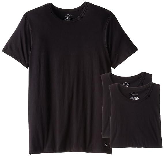 17c1d91dc270 Calvin Klein Men s Body Slim Fit Short Sleeve Crew Neck T-Shirt at ...