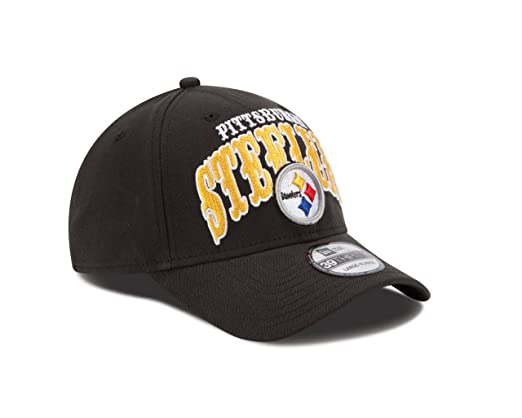Amazon.com   NFL Pittsburgh Steelers Curve Classic 39Thirty Flex Fit ... d2f483f50
