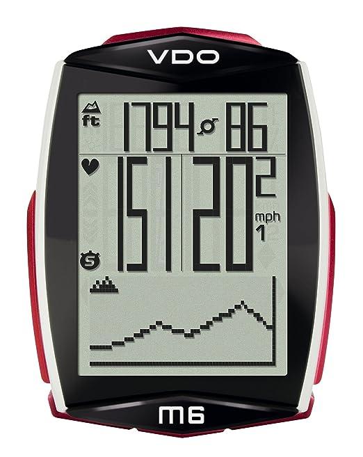 26 opinioni per VDO Ciclocomputer M6 Wireless con Fascia Cardio e Sensore di Velocità,