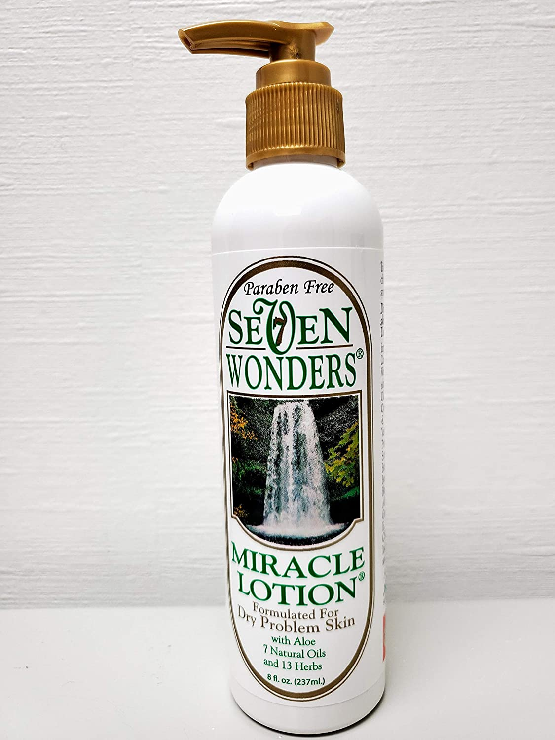 Seven Wonders Miracle Lotion - 7 Oils, 13 Natural Herbal Extracts, Soothing All-Day Body Moisturizer for Dry, Itchy, Irritated Skin