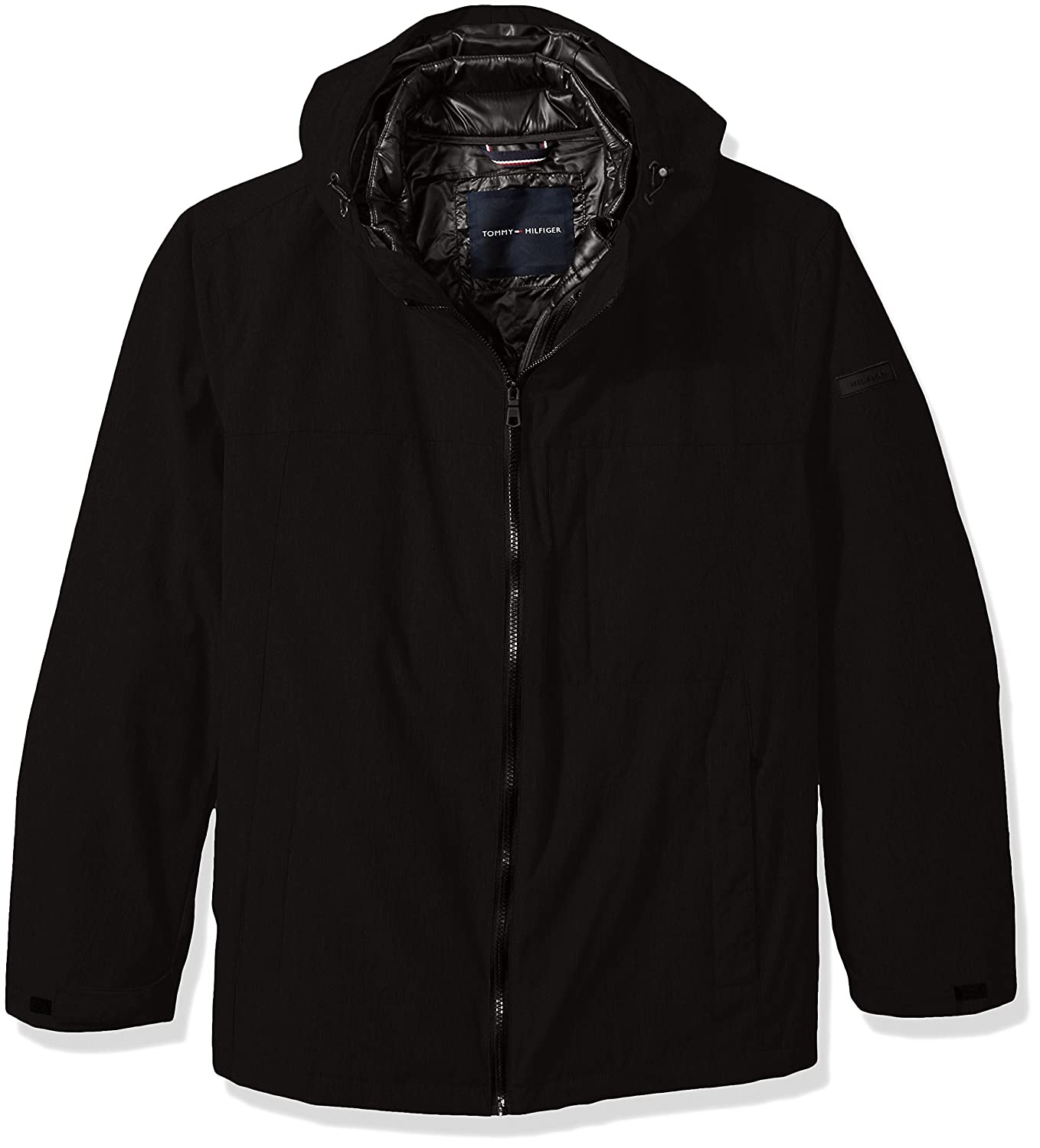 Tommy Hilfiger Men's Big Mountain Cloth 3-in-1 Systems Jacket 156XP149