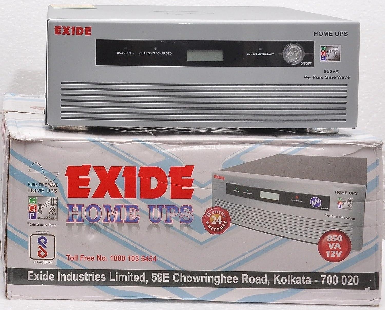 Exide 850Va Pure Sinewave Home Ups Inverter - Digital Display ...