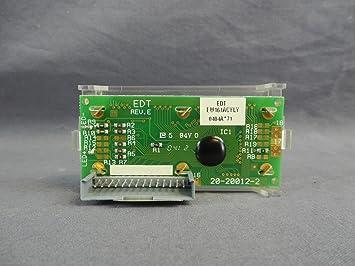 recertificación Necta 99596 café máquina LCD pantalla Junta 20 - 20012 - 2 ew161acyly Rev. E: Amazon.es: Hogar