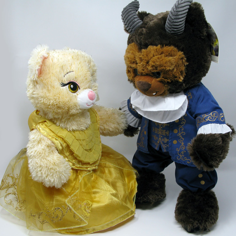 Amazon.com: Build a Bear – Disney Bella y la Bestia – Beast ...