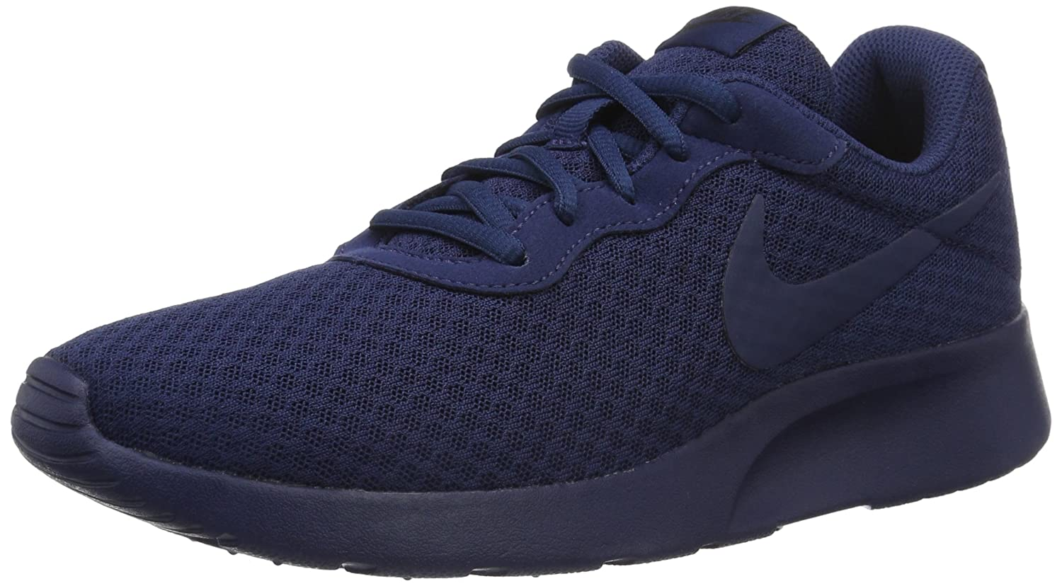 nike tanjun trainers mens blue