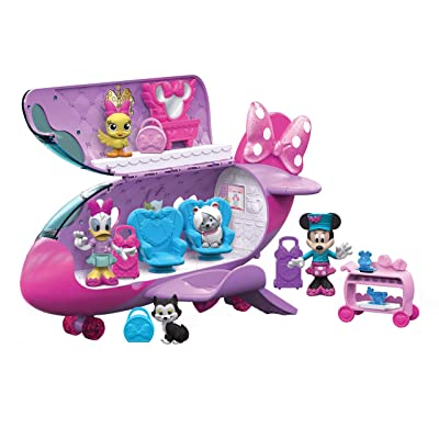 Minnie Bow-Liner Jet: Toys & Games