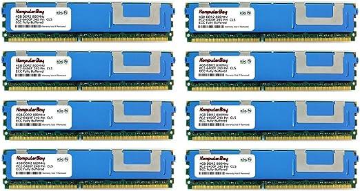 KOMPUTERBAY 8GB DDR2 800MHz PC2-6400 FB 2X4GB Memory for HP PROLIANT DL160 G5P 484062-B21