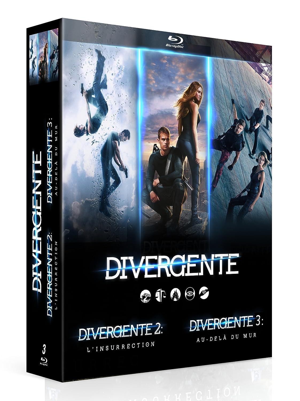Divergente - Coffret : Cinq destins, un seul choix + Linsurrection + Au-delà du mur Francia Blu-ray: Amazon.es: Shailene Woodley, Theo James, Naomi Watts, Daniel Dae ...