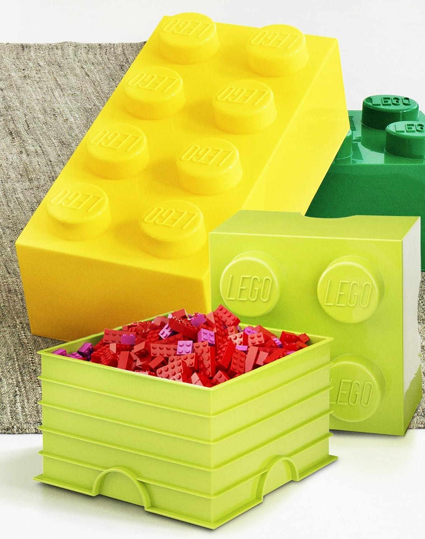 & Lego Storage Brick 8 Medium Pink: Amazon.in: Toys u0026 Games
