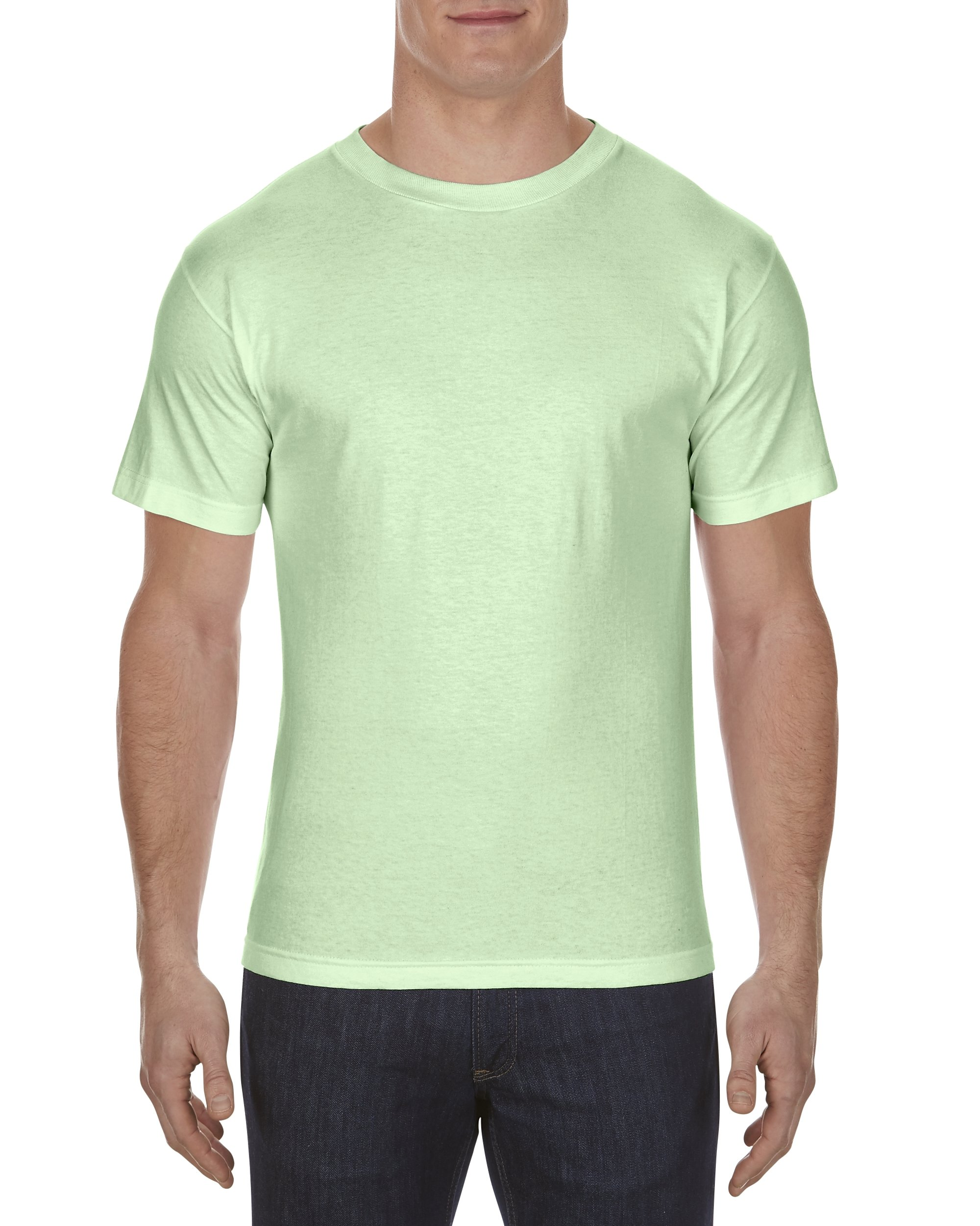 Alstyle Apparel AAA Men's Classic T-Shirt, Mint, 2X-Large