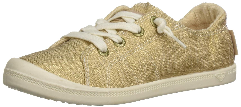 Roxy Women's Bayshore Slip on Shoe Sneaker B075TXP2TW 5.5 B(M) US|Champagne