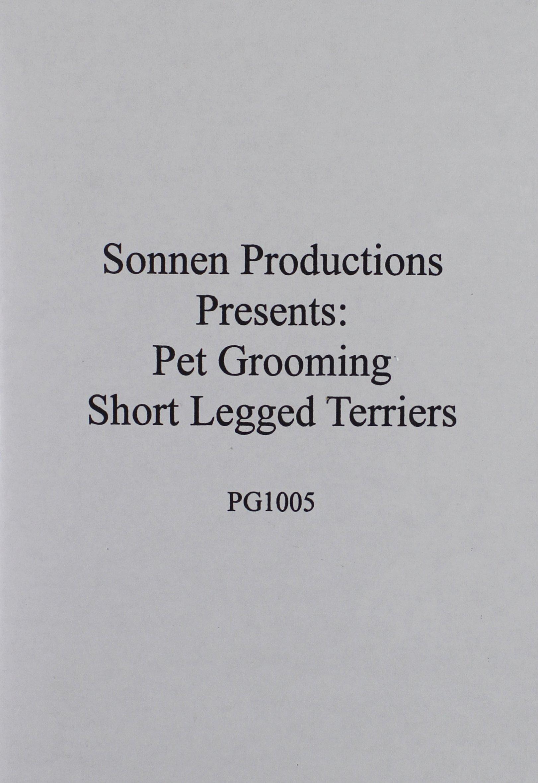 Sonnen Productions Pet Grooming DVD, Short-Legged Terriers
