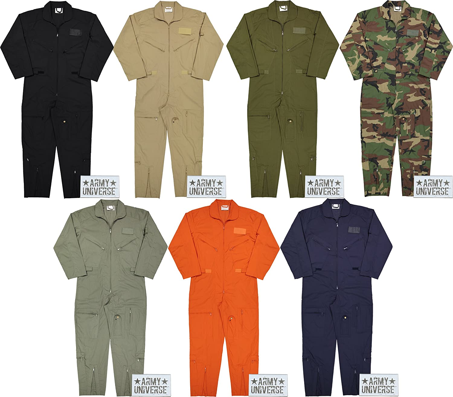 Amazon.com  Army Universe Air Force Flight Suits e28ab77a7fc
