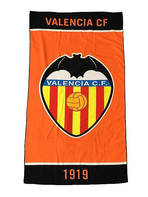 Valencia CF 01TOA05 Toalla, Naranja, Talla Única