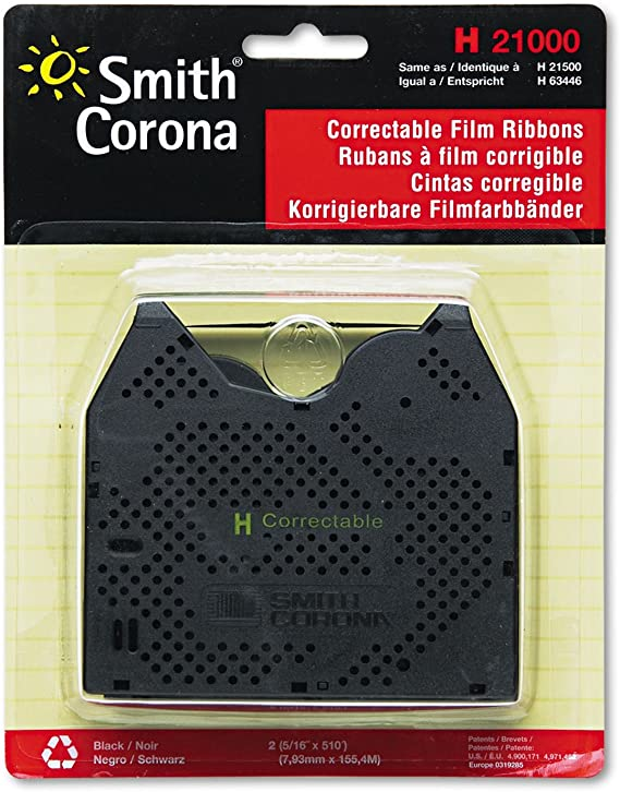 New Genuine Smith Corona KA13 Typewriter Ribbon 2 pack