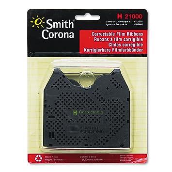 smc21000 - Smith Corona - H Serie máquina de escribir corrección cinta: Amazon.es: Electrónica