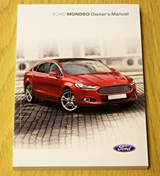 ford mondeo 2014 2018 handbook owners manual audio navi sync manual rh amazon co uk