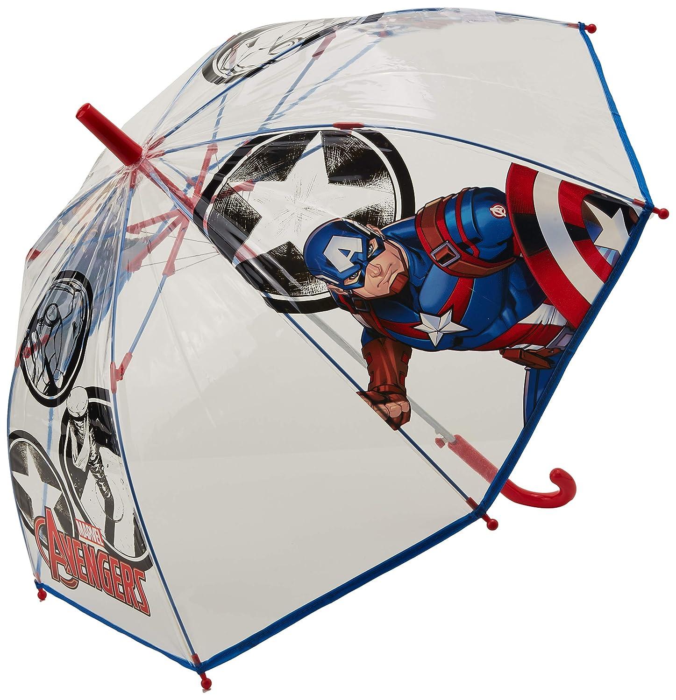 Paraguas transparente de Los Vengadores.
