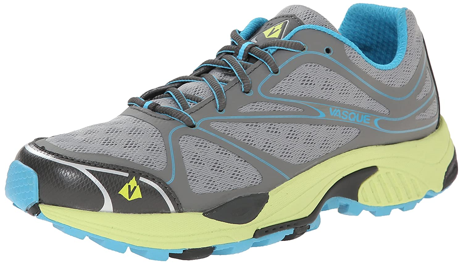 Vasque Women's Pendulum II Trailing Running Shoe B00KYT1M4K 8.5 B(M) US|Neutral Gray/Horizon Blue