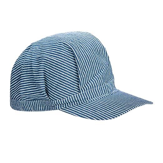 c5b23ede03439 Amazon.com  Child s Train Engineer Hats (6pk)   Conductor Hats ...