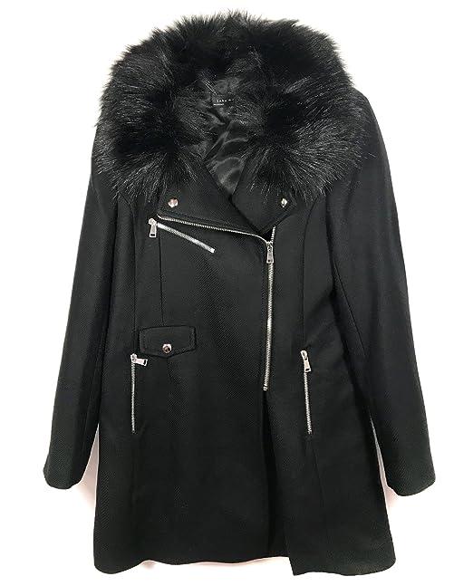 Zara Mujer Small Para Ropa es Negro Y Abrigo Accesorios Amazon aTrqa