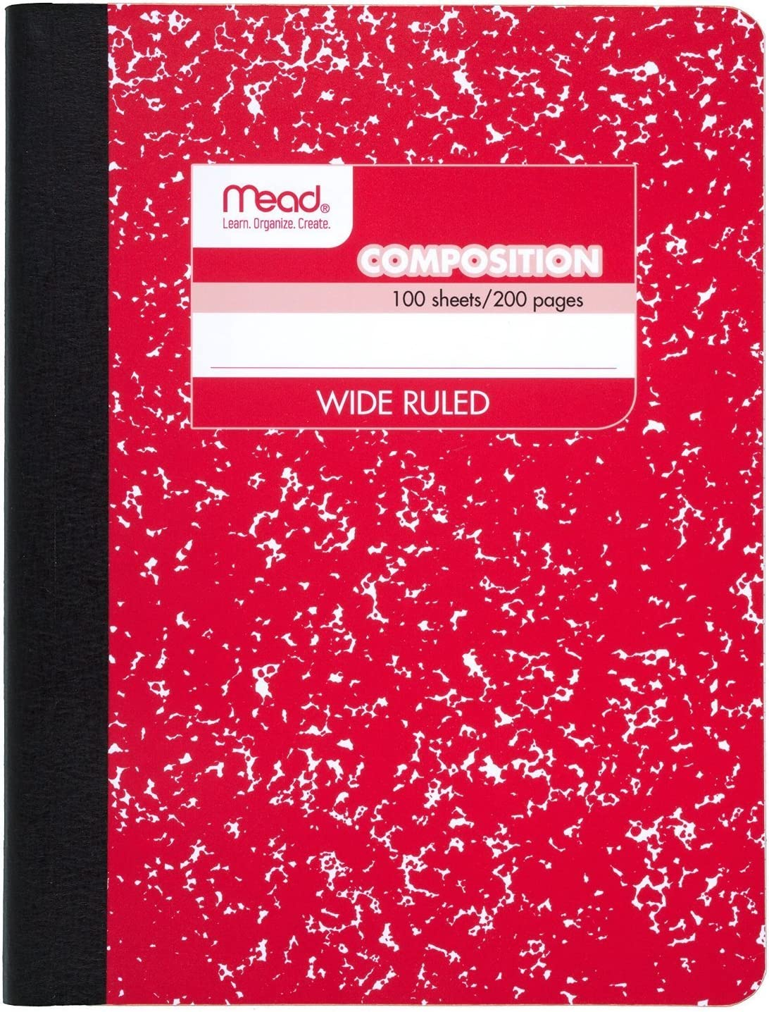 70 Sheets 140 Pages Wide Ruled 9-3//4 x 7-1//2 Fashion Design Green Mead Composition Notebook