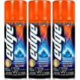 Edge Shave Gel, Sensitive Skin, 7-Ounce Cans - Pack of 3