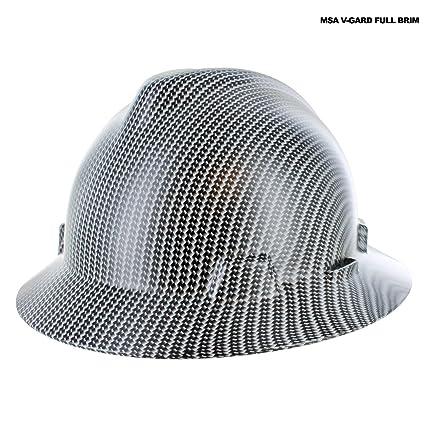 Custom Hydrographic White Carbon Fiber Hard Hat Ii Amazon Com