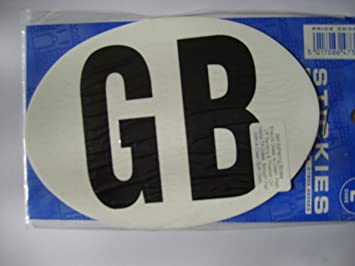 exterior stickers. inside window stick gb sticker - protect your cars paintwork from car exterior stickers