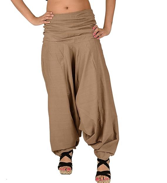 a187e739a17 Skirts  N Scarves SNS Pure Cotton Harem Pant Indian Trouser Yoga Pant Beige