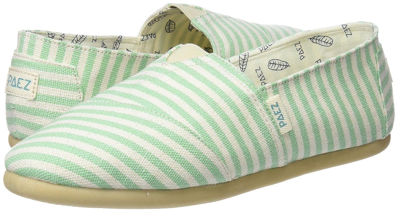 Paez Damen Original - Classic Verschiedene Grün Stripes Espadrilles, grün, Verschiedene Classic Farben (Grün Stripes) a53d19