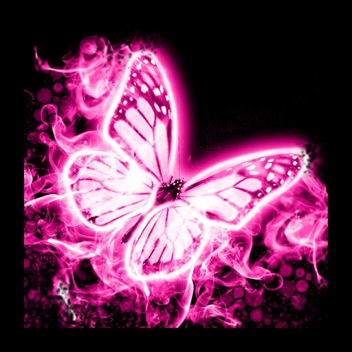 Neón rosa teclado mariposa: Amazon.es: Appstore para Android