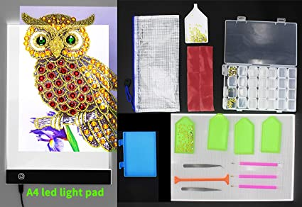 A4 Ultra Thin Dimmable USB Led Lights Pad Adjustable Brightness 5d Diamonds  Paintings Lightpad Portable Lightbox 0d78f8c81bf8