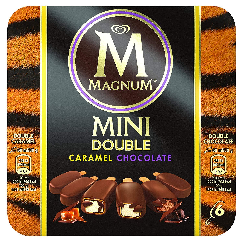 Magnum Helado Chocolate y Caramelo sin Gluten - 60 ml x 6 ...
