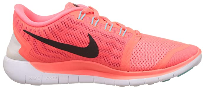 save off d43b6 010b0 Nike Women s WMNS Free 5.0 Hot Lava, Lava Glow, Bright Crimson and Black Running  Shoes - 6 UK India (40 EU)(7 US)  Amazon.in  Shoes   Handbags