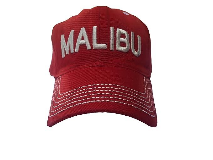 Malibu Distressed Vintage Beach Hat - Beach Wear - Surf Cap - Surf Hat -  Trucker Hat - Baseball Cap - Great Shade Visor 823c59f76f4