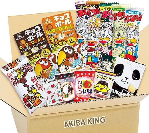 Choco Ball juego de chocolate y snack japonés DAGASHI con adhesivo AKIBA KING: Amazon.es: Alimentación y bebidas