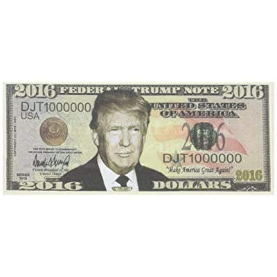 Set of 5 - Donald Trump 2016 Presidential Dollar Bill: Toys & Games [5Bkhe1200042]