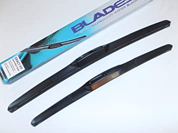 Escobillas limpiaparabrisas actualizadas de 45 x 48 cm (par)