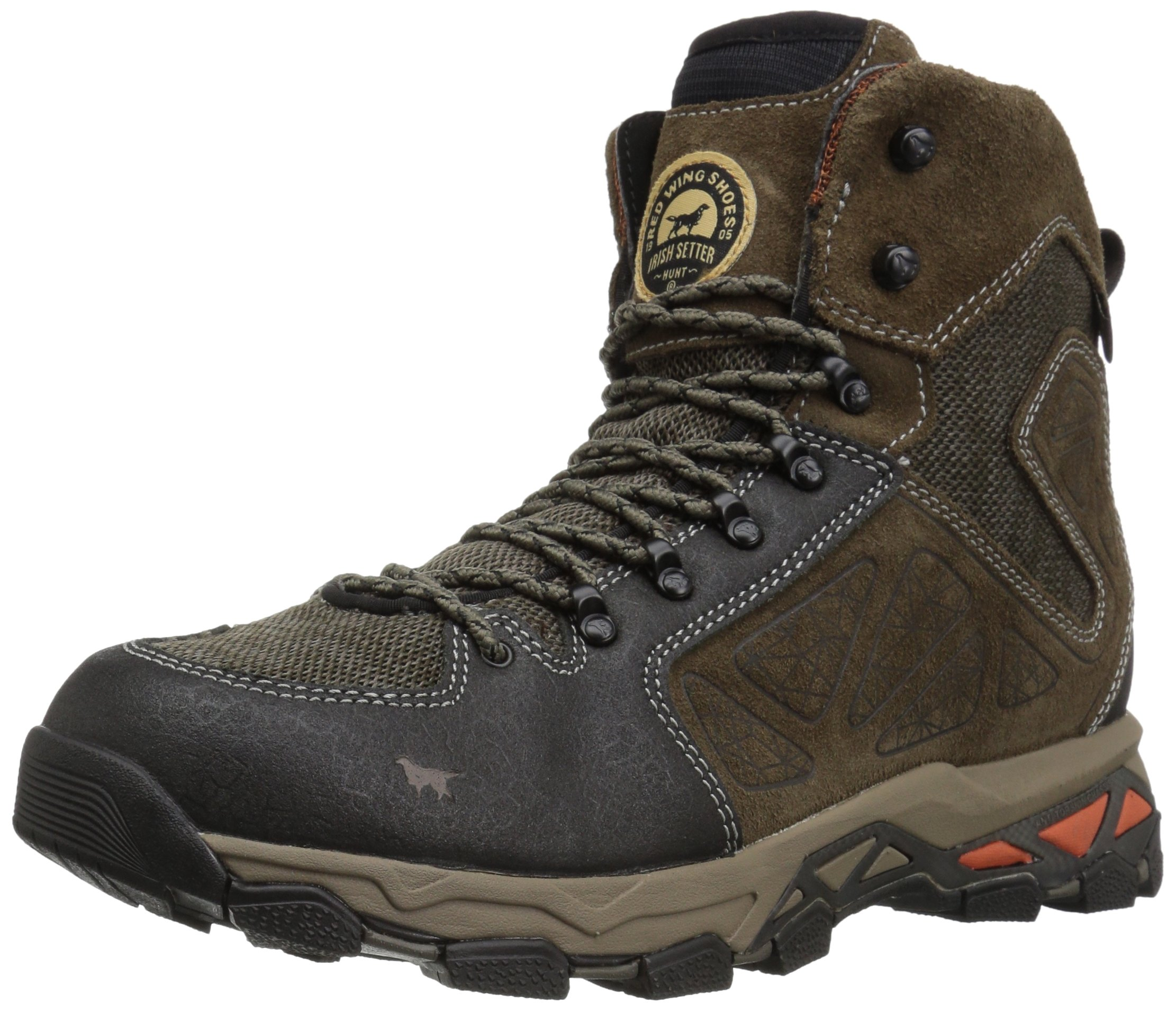 Irish Setter Men's Ravine-2880 Hunting Shoes, Gray/Black, 8 2E US