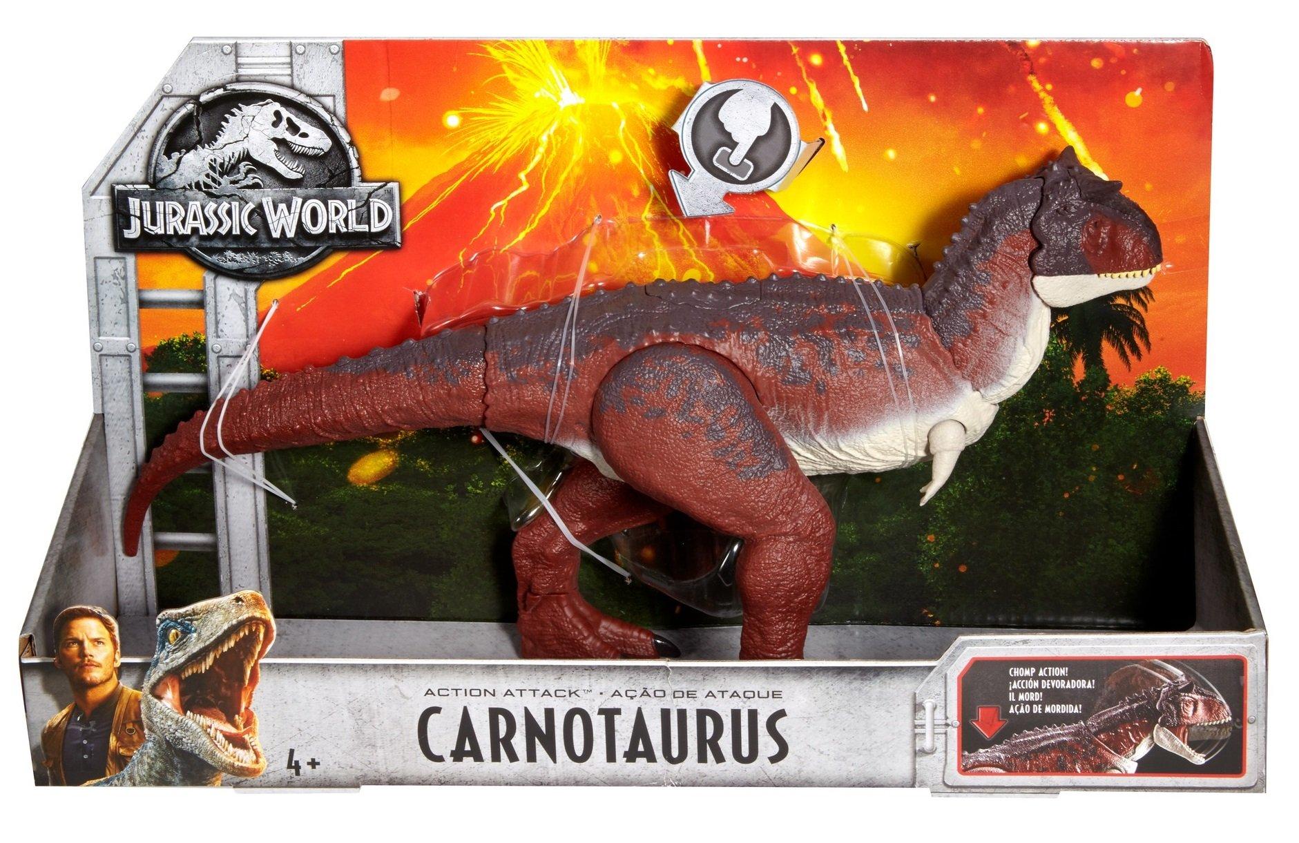 Jurassic World Action Attack Carnotaurus Figure by Jurassic World Toys (Image #5)