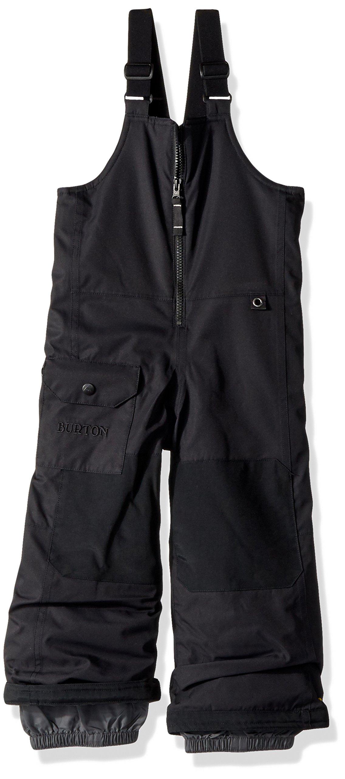 Burton Boys Minishred Maven Bib Pants, True Black, 3T