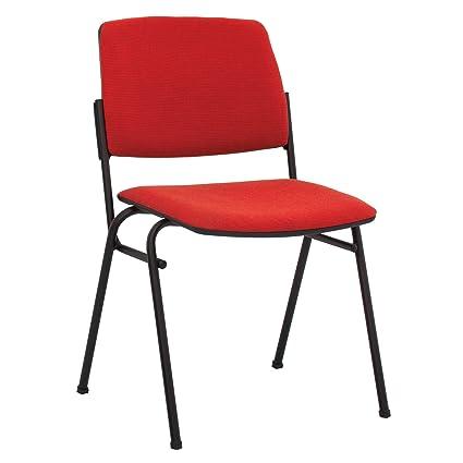 2 X Seggiolino di sala di Riunione impilabile sedia da ...