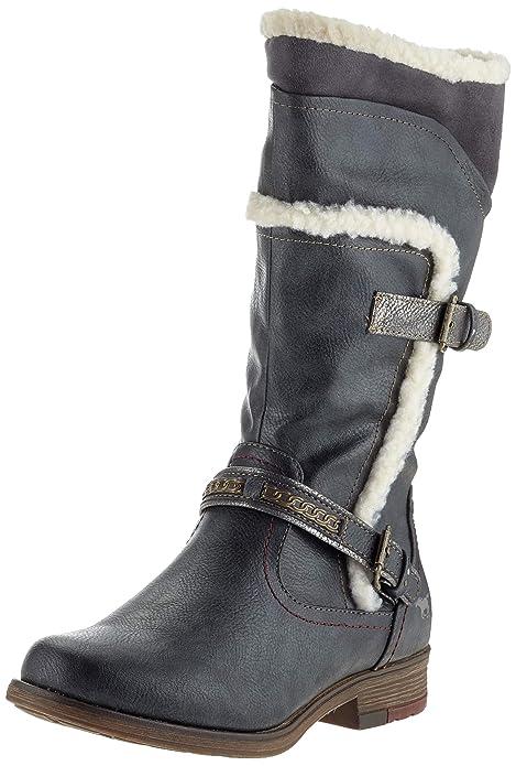 Mustang 1295-605-259, Botas Altas para Mujer: Amazon.es: Zapatos y complementos