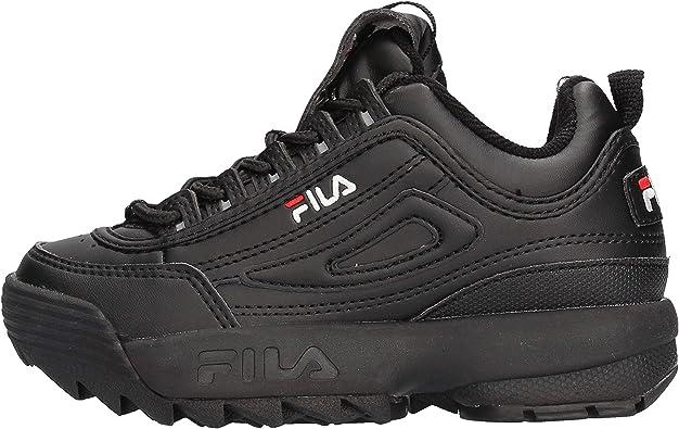 scarpe fila bambina nere