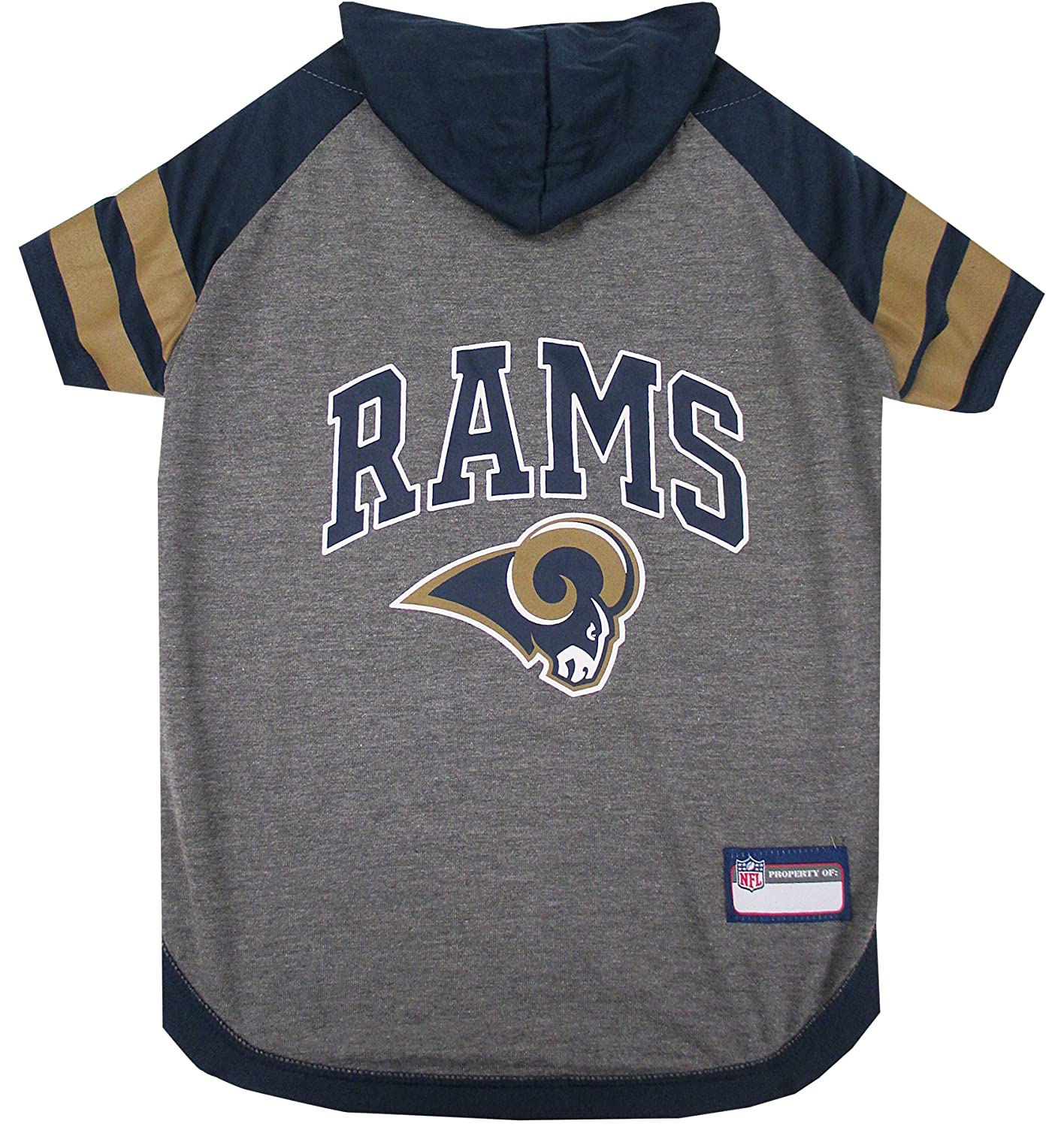 Amazon.com   NFL Los Angeles RAMS Hoodie for Dogs   Cats.  dafcbe8a0
